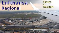 FLIGHT REVIEW - Lufthansa Regional - Geneva to Frankfurt