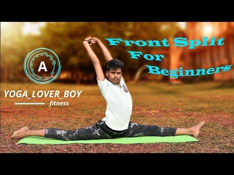 front split exercise for beginners  youtube