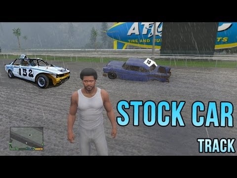 Gta V Stockcar Racing Track Youtube