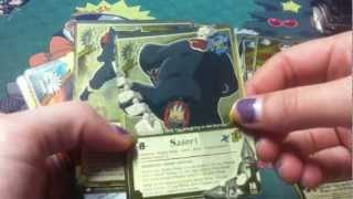 Naruto Opening 50 Packs of A New Chronicle Part 2!