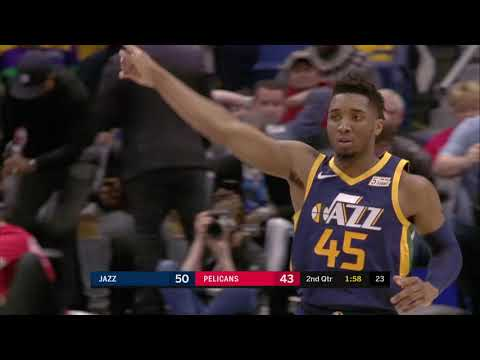 Utah Jazz vs New Orleans Pelicans | March 6, 2019
