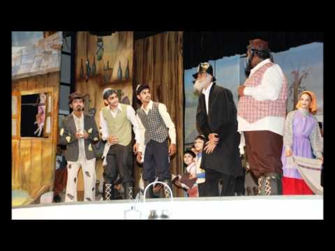 The Bishops School pune, drama prod. team. Pix of the adaptation of fiddler on the roof, 2011-2012