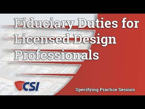 The Twilight of the Gods: The New Regime of Fiduciary Duties for Licensed Design Professionals