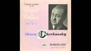 Silent Tone Record/ショパン:24の練習曲Op.10/シューラ・チェルカスキー/英HMV:ALP 1310/クラシックLP専門店サイレント・トーン・レコード