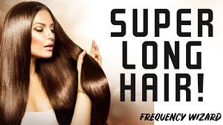 Grow super long hair fast! subliminals frequencies theta hypnosis
