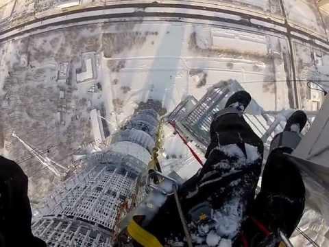 Высотные работы на останкинской башне (highworks.ru) 8 926 159-79-62