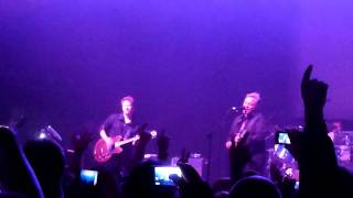 New Order - Love Will Tear Us Apart Live @ AB Brussels Belgium 2011