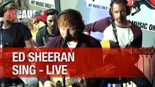 Ed Sheeran - Sing - Live - C'Cauet sur NRJ