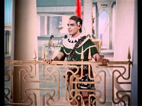SOPHIA LOREN AND ANTONIO CASSINELLI IN A CLASSIC MUSICAL DRAMA ... FILM - AIDA [1953]