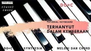 Tutorial Keyboard TERHANYUT DALAM KEMESRAAN - IKKE (Melodi dan Akor Do=C)