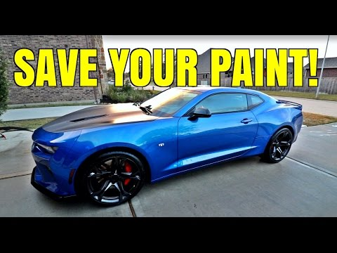 Paint Correction & Ceramic Coating - 2017 Camaro 1LE