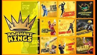 Rajshahi Kings Team - Player List
