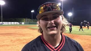 Varsity baseball - Dayton Wolfe