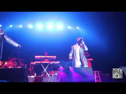 Bobby Brown, Ralph Treszvant and Johnny Gill Live (Heads of State)