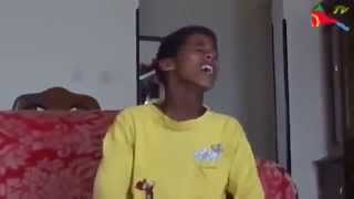 eritrean Funny and talented kid pretending voice of an old people