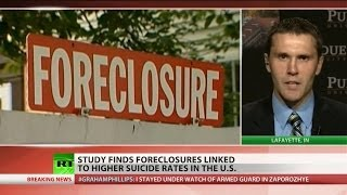 Suicide rate linked to foreclosures
