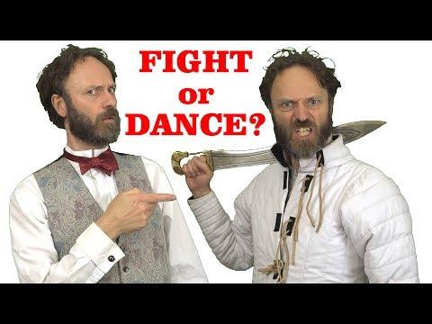 Fighting Is Like Dancing (so Men Don't Like To Dance)