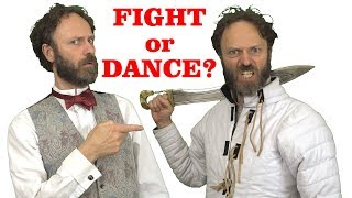 Fighting is like dancing (so men don't like to dance)