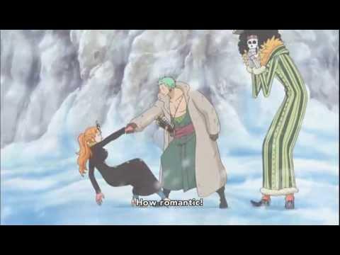 One Piece - Sanji In Nami's Body Moment with Zoro