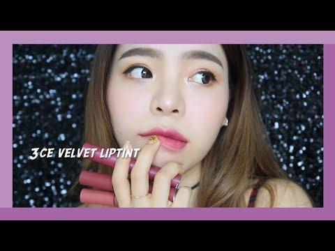 3CE VELVET LIP TINT REVIEW - Prime Violet Purple Variation (Bahasa Subs) | Erna Limdaugh