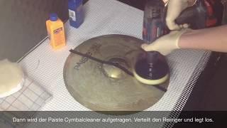 Stark oxidierte Becken ( Cymbal ) reinigen ! Für extreme Fälle ! (Urheber frei)