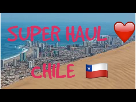 SUPER HAUL DE CHILE!!!🎈🇨🇱❤️