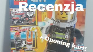 Gazetka Lego City 2/2019 RECENZJA + Opening Kart Ninjago!