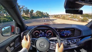 2021 Mercedes Maybach GLS 600 POV Test Drive (3D Audio)(ASMR)