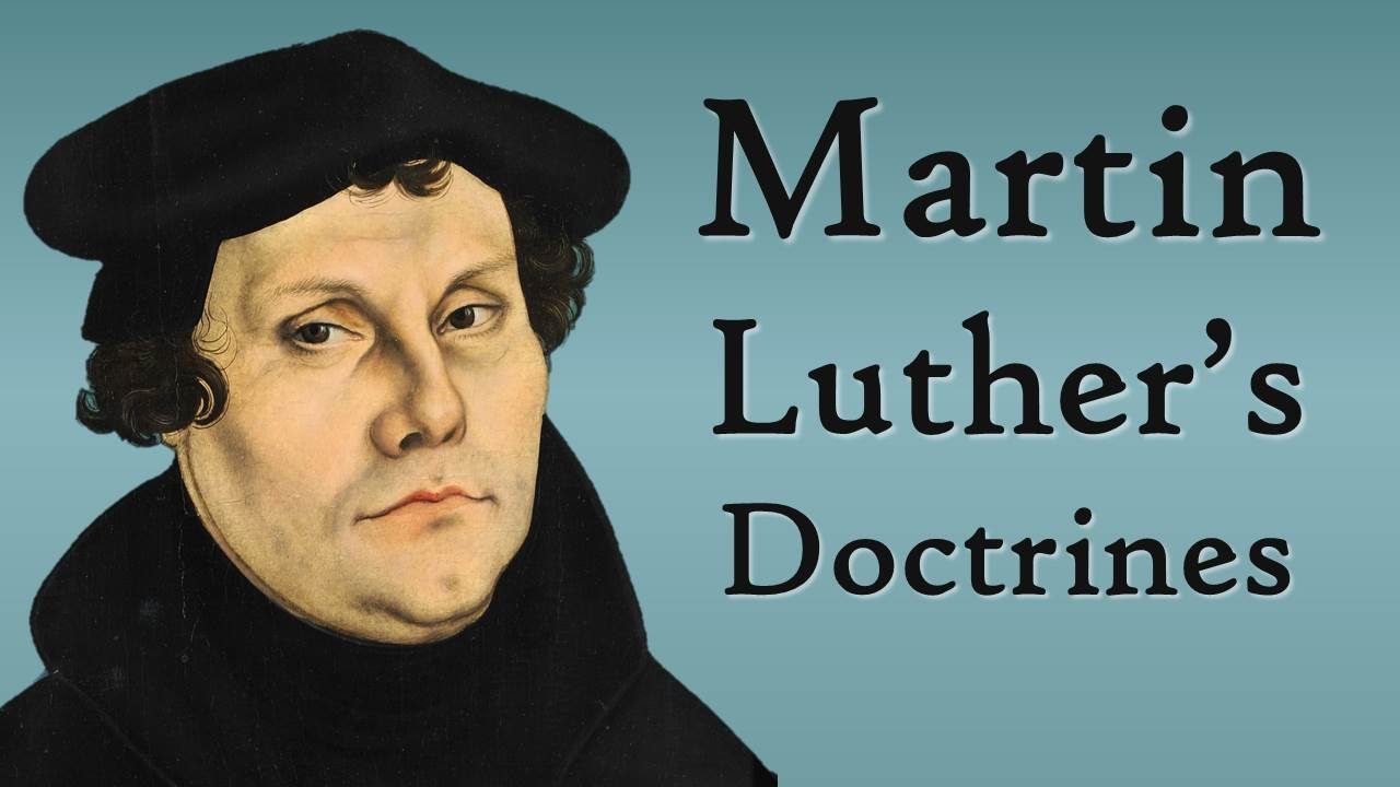 martin luther 39 s doctrines reformation theology youtube. Black Bedroom Furniture Sets. Home Design Ideas