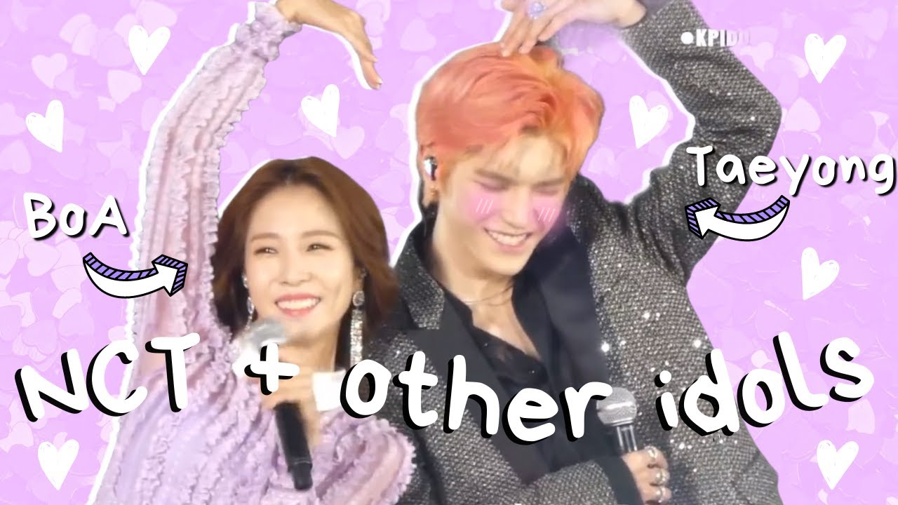 NCT interacting with other idols (wholesome ver)
