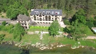 Au coeur des Gorges du Tarn, à 20mn du viaduc de Millau : l'Hôtel de la Muse et du Rozier, 4 étoiles