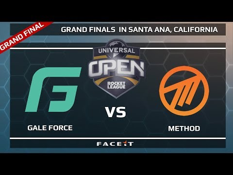 Gale Force vs Method - GRAND FINAL - Universal Open Rocket League Grand Finals
