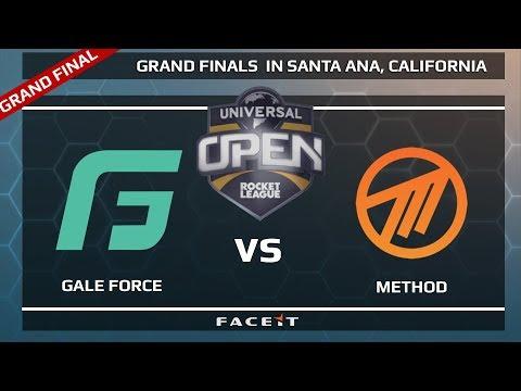 Gale Force vs Method - GRAND FINAL - Universal Open Rocket League Grand Finals