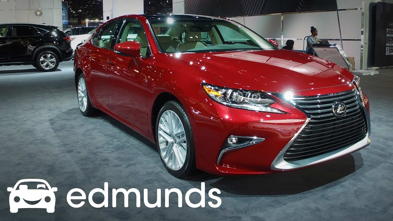 2017 lexus es 350 review features rundown edmunds youtube. Black Bedroom Furniture Sets. Home Design Ideas