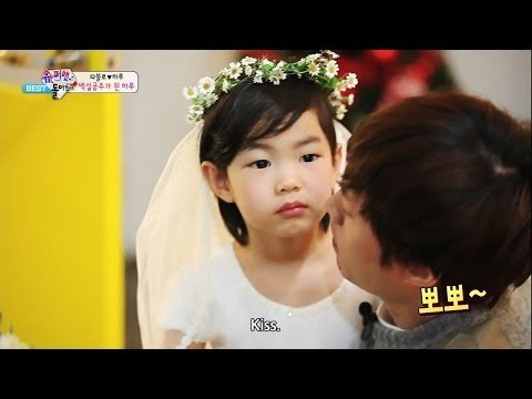 The Return Of Superman - Haru Became Snow White (2014.03.28)