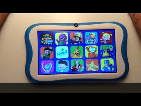 How to Restore/Reset a Sprout Cubby Tablet