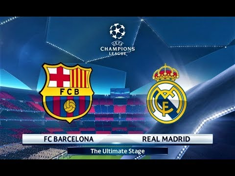 Barcelona vs Real Madrid | UEFA Champions League 2018 Final | PES 2018 Gameplay HD