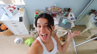 cleaning & decorating my messy room for the fall!