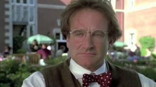 """Flubber"" Scene, Robin Williams & Marcia Gay Harden"