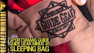 Guide Gear Minus 30 Sleeping Bag by Sportsmans Guide - Preapredmind101