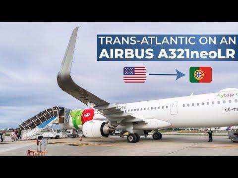 TRIPREPORT | TAP Air Portugal (ECONOMY) | Airbus A321neoLR | Newark - Porto