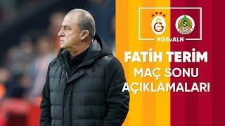 🎙 Teknik direktörümüz Fatih Terim'in maç sonu açıklamaları #GSvALN
