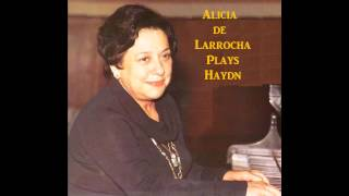 Alicia de Larrocha plays Haydn - Variations in F minor, Hob. XVI:6