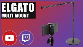Elgato Multi Mount: Kamera und Mikrofon perfekt positionieren
