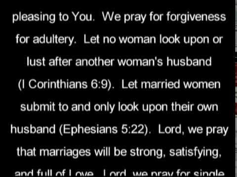 Forgiven Prayer