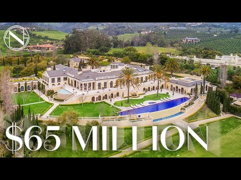 Inside A $65 MILLION California Estate With A Polo Field And Nightclub