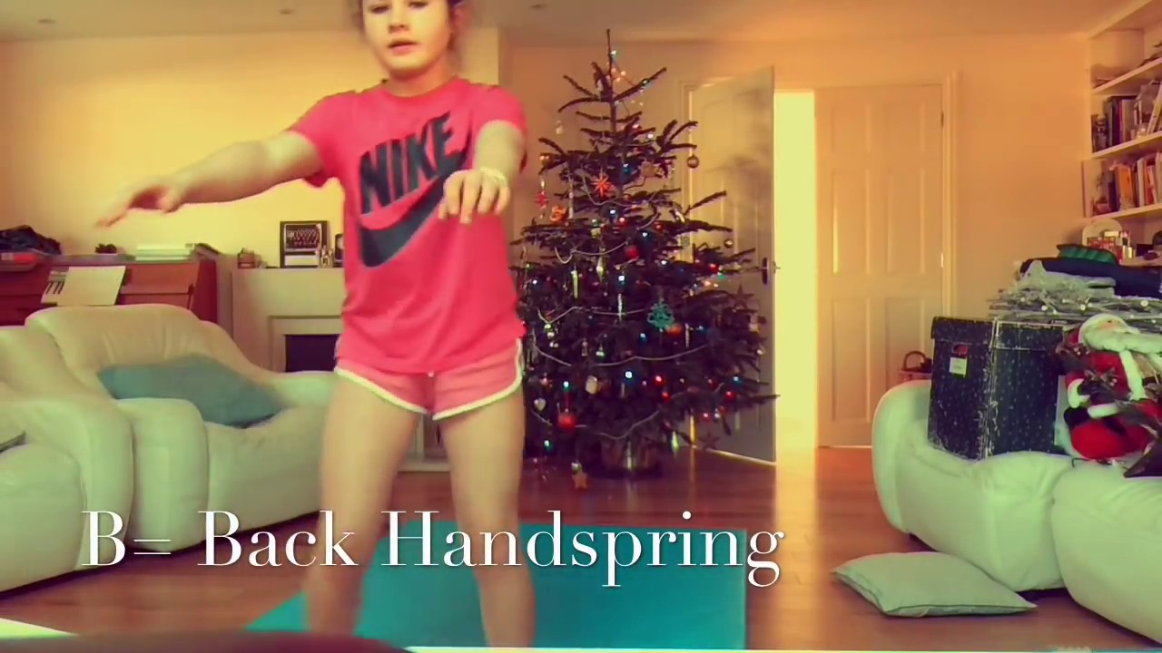 ABC Gymnastics Challenge ♂️FT. Millie MW