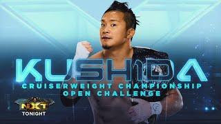 Kushida vs Trey Baxter (NXT Cruiserweight Championship Full Match Part 2/2)