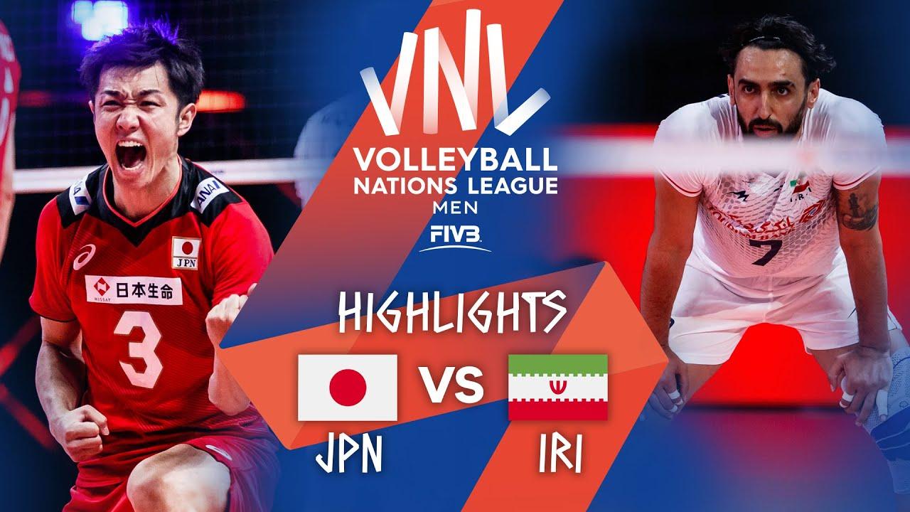 Download JPN vs. IRI - Highlights Week 1 | Men's VNL 2021