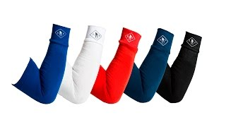 Compression Arm Sleeves | 100% Polyester Improves Blood Flow & Promotes Healthy Elbow Joints